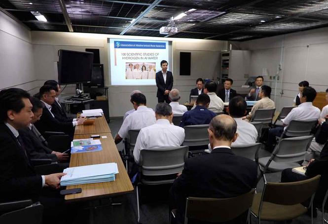 Hiệp hội nước ion kiềm Việt Nam đẩy mạnh hợp tác quốc tế với Nhật Bản - ảnh 3