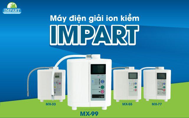 Máy điện giải Impart 3
