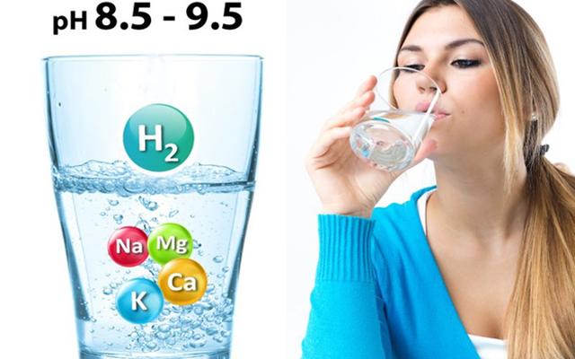 Nước ion kiềm tốt